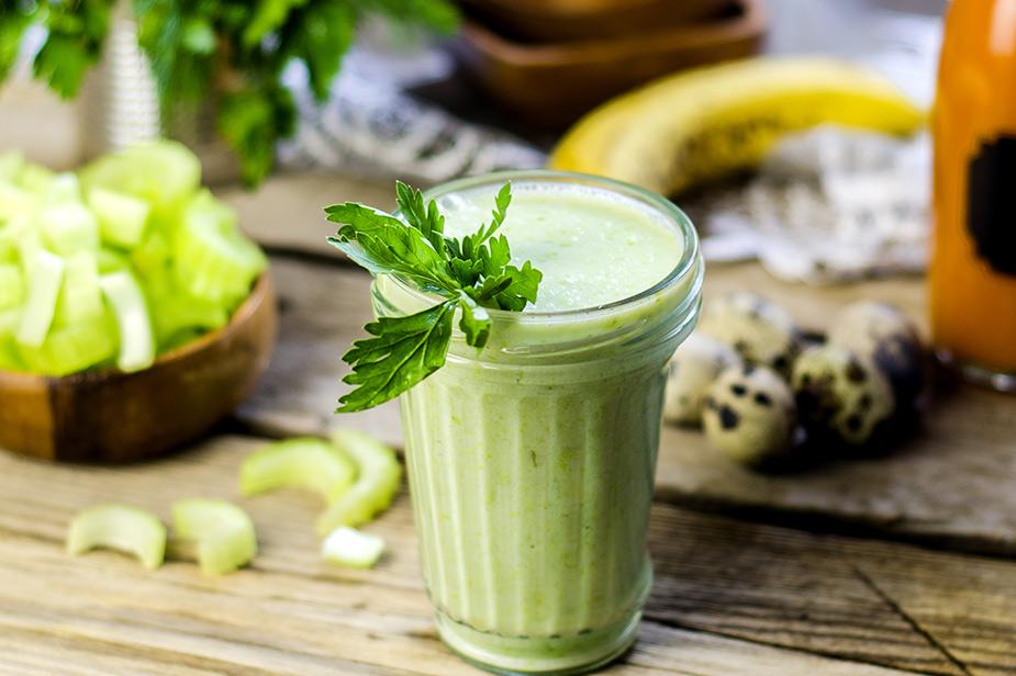 Zeleni smoothie za popoln zajtrk