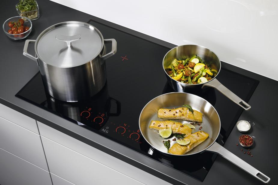 Indukcijska plošča Aeg je primerna za vsako kuhinjo