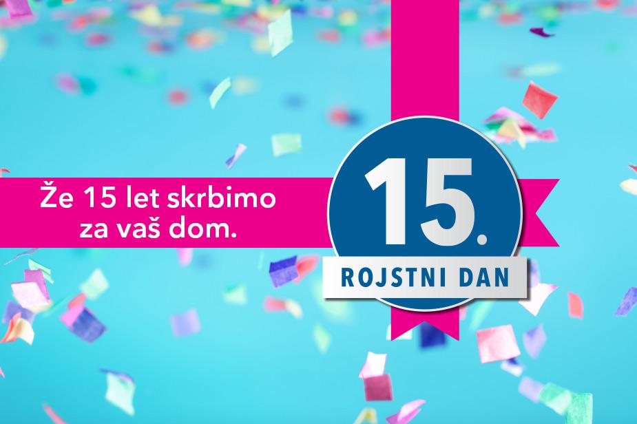 Harvey Norman Slovenija praznuje 15. rojstni dan