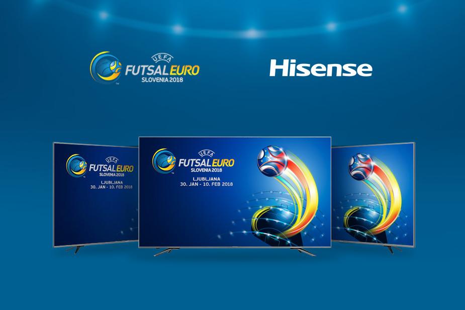 UEFA Futsal EURO 2018 x Hisense televizorji