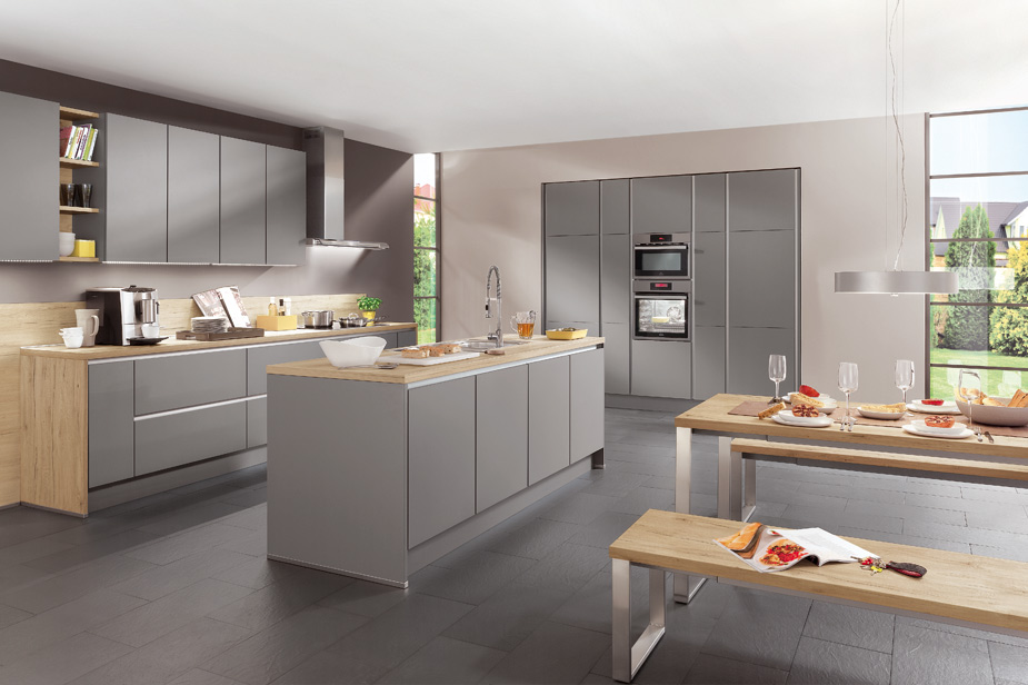 Kuhinja dKüchen siva in moderna