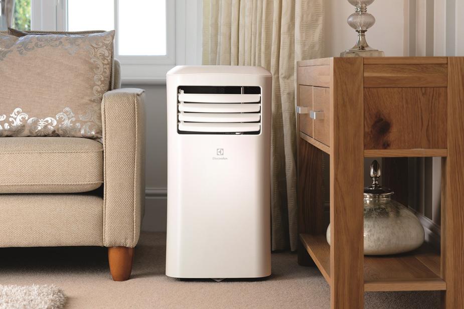 Prenosna klima v dveni sobi čez poletje