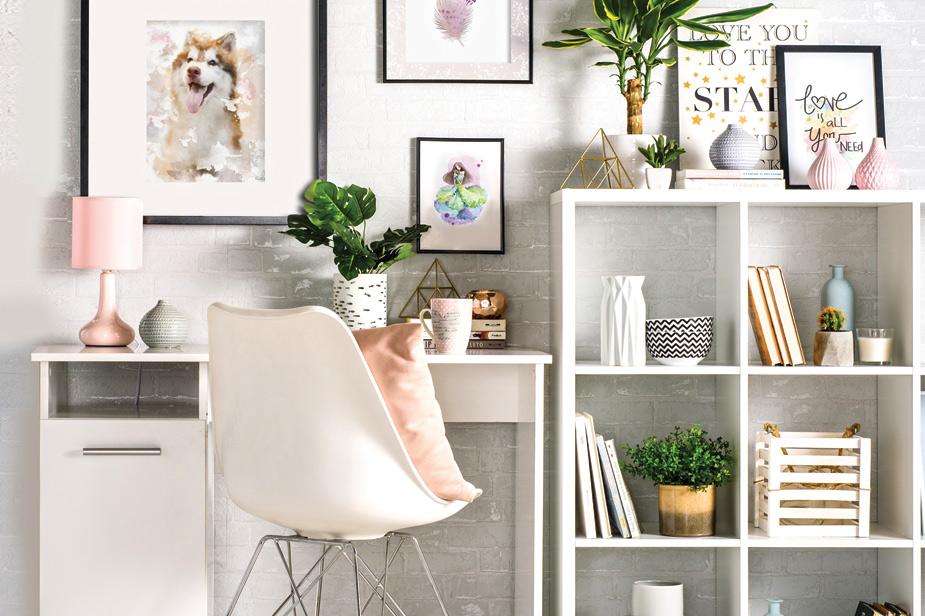 Pisalna miza bela barva