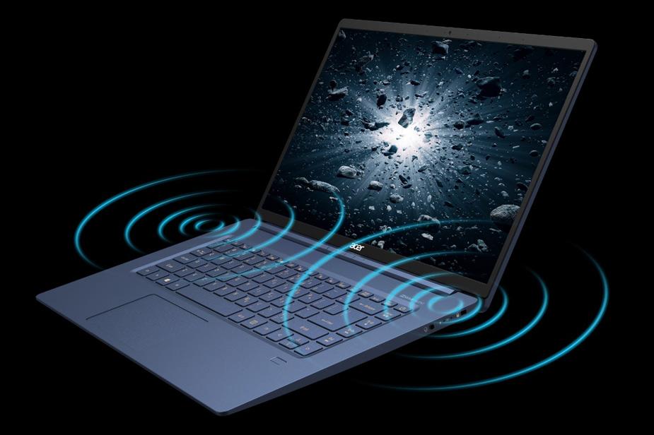Acer Swift 5 prenosnik izjemen zvok