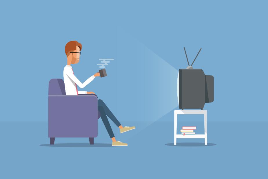 Razdalja gledalec - televizija
