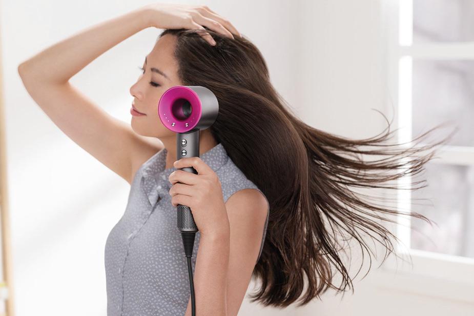 Sušilec las Dyson Supersonic za dolge lase