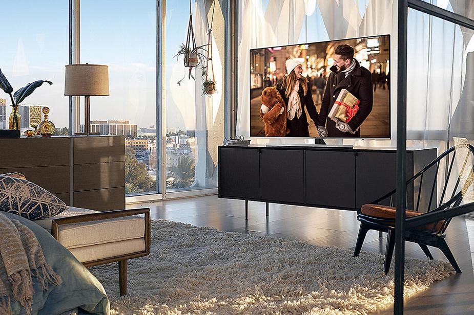 Televizor v spalnici