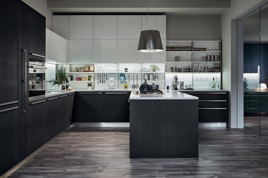 Kuhinja z oblikovalskim pečatom Veneta Cucine