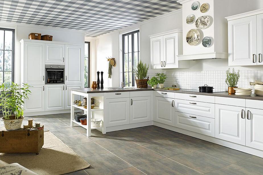 Rustikalen stil kuhinje Schüller