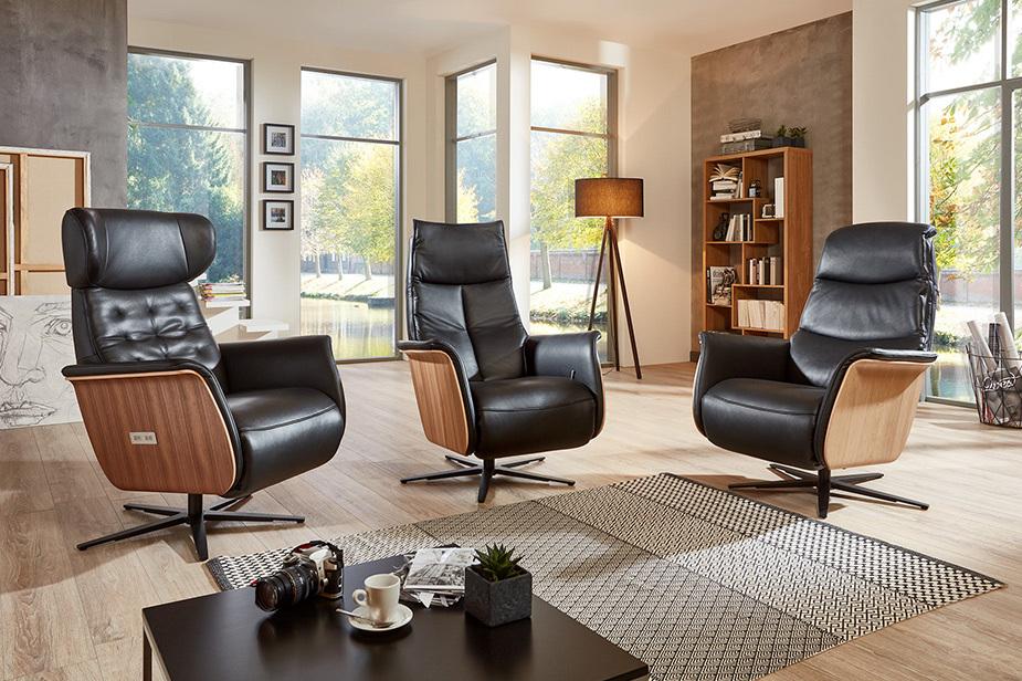 Stol za počivanje ima lahko središčno vlogo v dnevni sobi