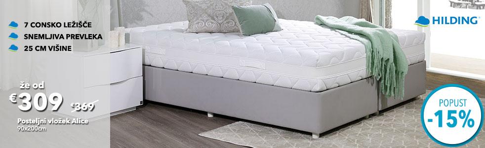 posteljni vložek Alice
