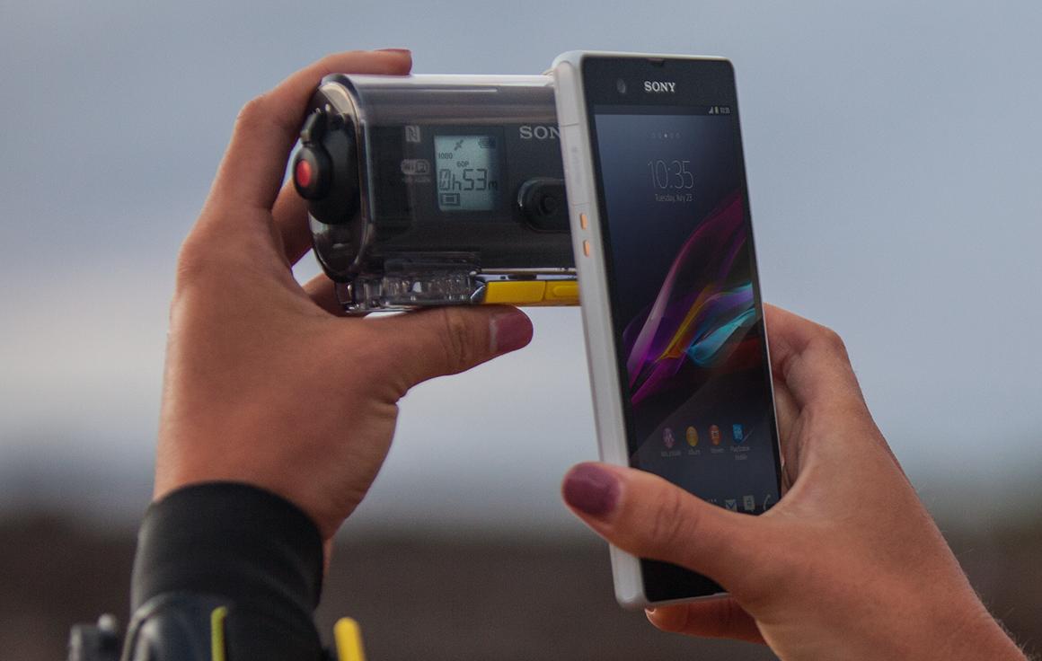 Kamera action cam sony hdras30v